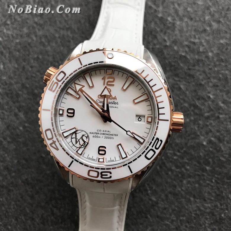 VS厂欧米茄海马系列215.23.40.20.04.001海洋宇宙女士间金款复刻手表