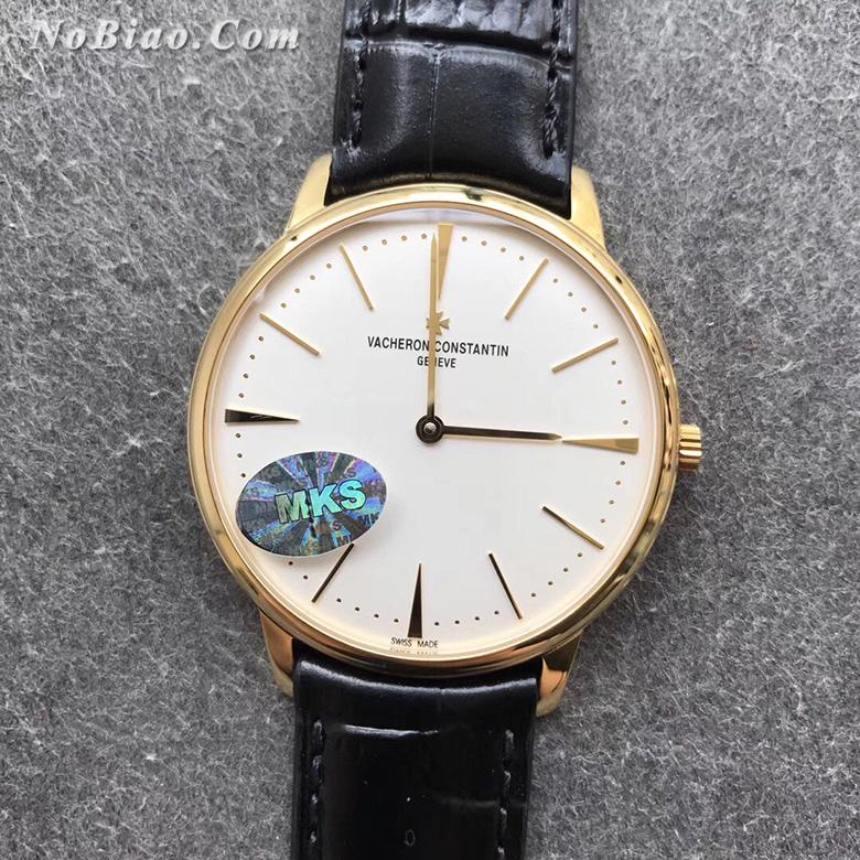 MKS厂江诗丹顿传承系列81180/000J-9118白面金壳复刻手表(一)
