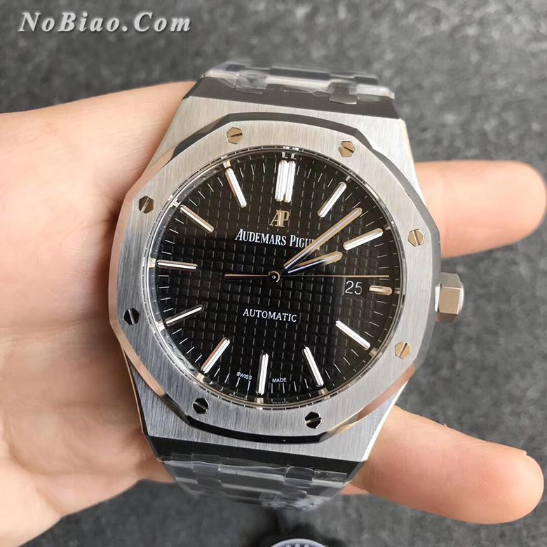 ZF厂爱彼皇家橡树系列黑面15400ST.OO.1220ST.01一比一复刻手表
