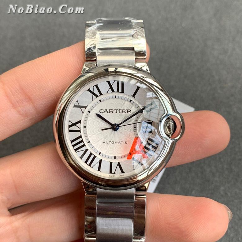 V6厂卡地亚蓝气球36毫米W6920046最终版女款复刻手表