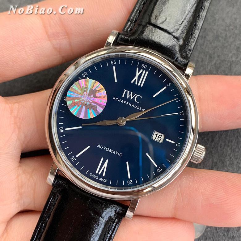 FK厂万国柏涛菲诺系列蓝面瑞士eta2892机芯版复刻手表