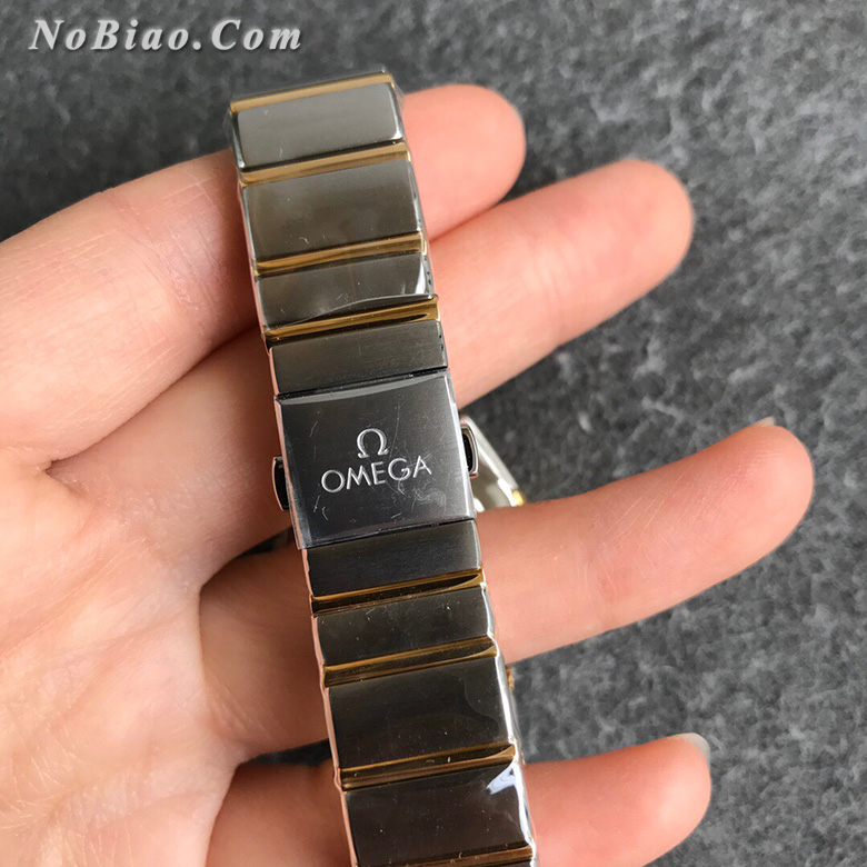 AF厂欧米茄星座28毫米女士石英复刻手表(十六)