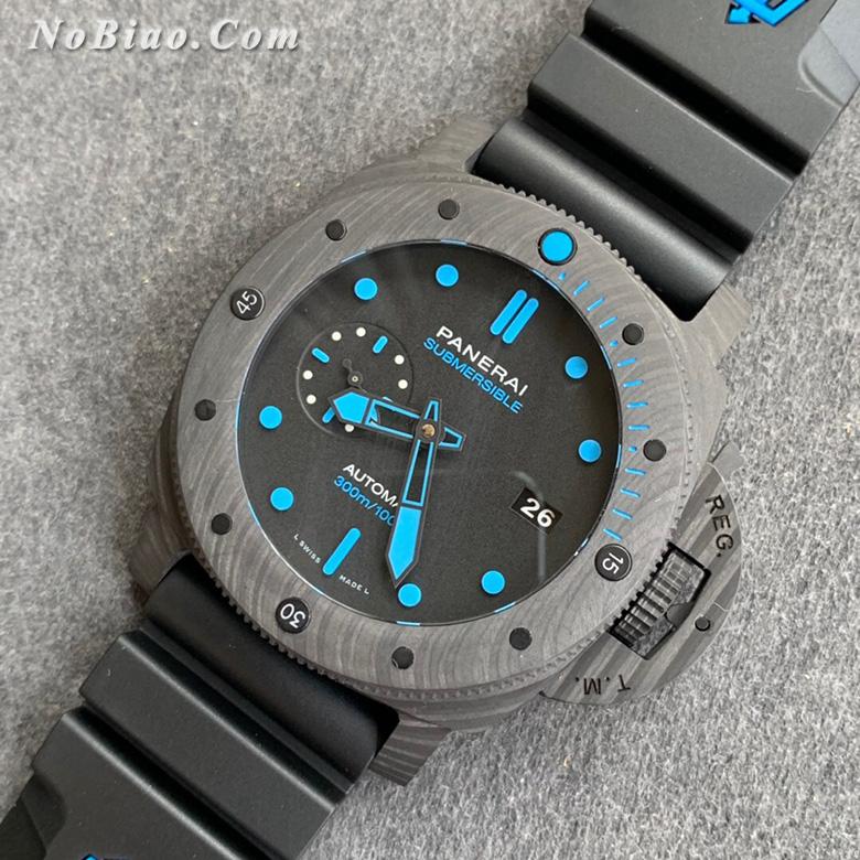 VS厂沛纳海PAM1616碳纤维壳复刻手表
