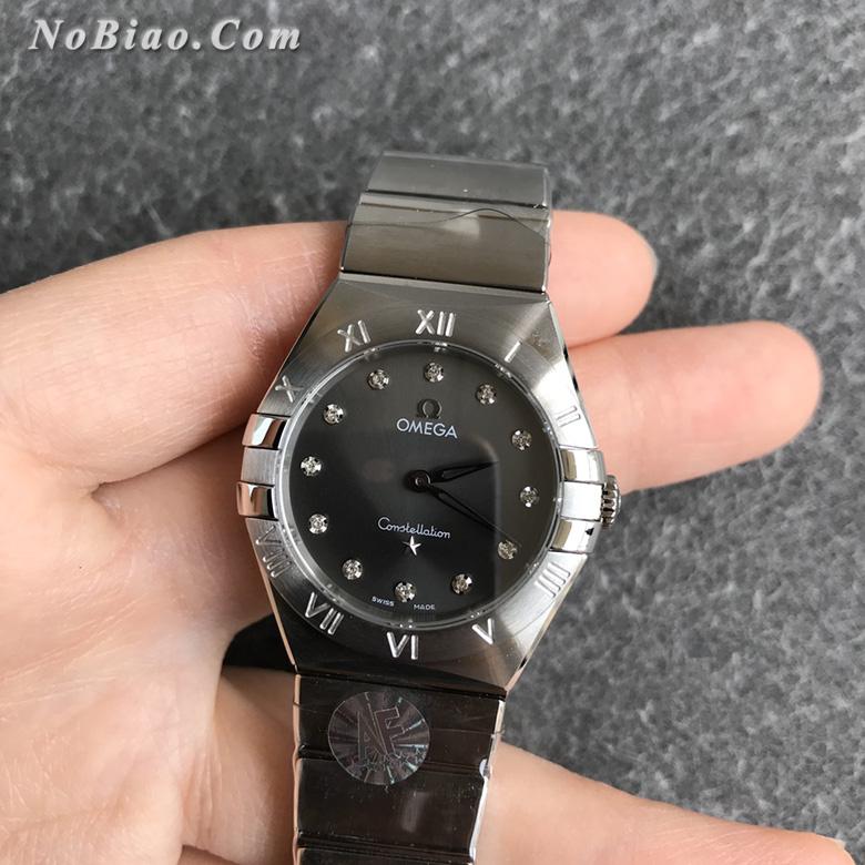 AF厂欧米茄星座28毫米女士石英复刻手表(三)