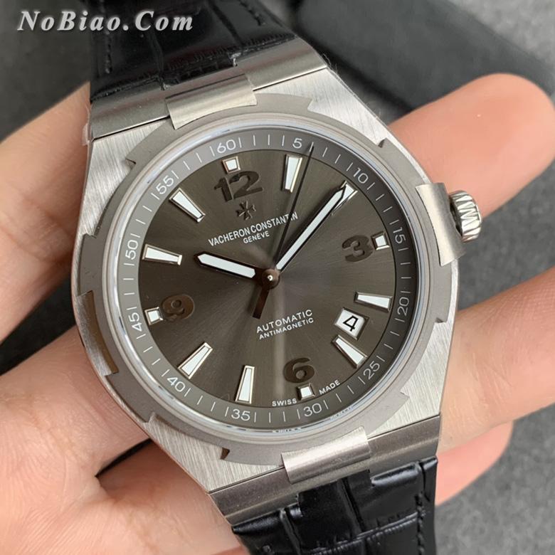 MKS厂江诗丹顿纵横四海系列47040/000M-9500灰面皮带复刻手表