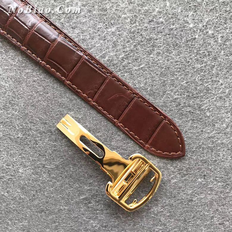 AF厂卡地亚大号蓝气球W6900551金壳皮带版复刻手表