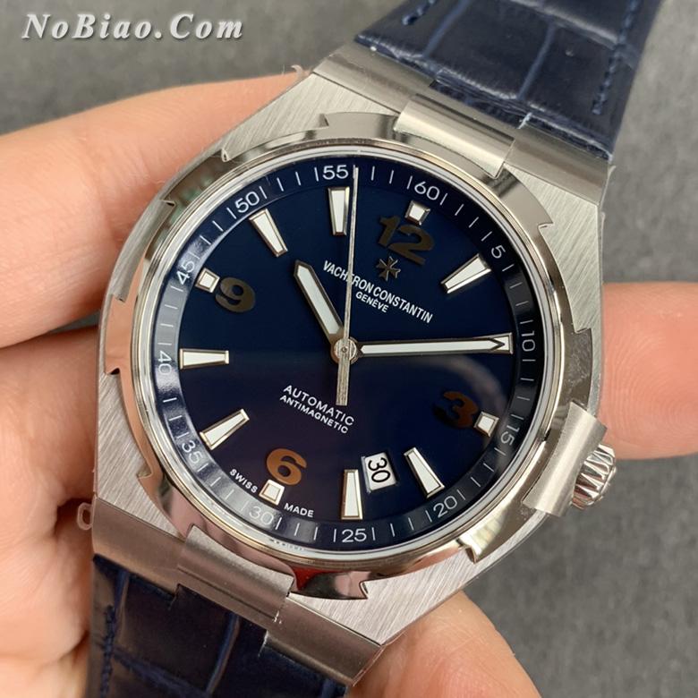 MKS厂江诗丹顿纵横四海系列P47040/000A-9008蓝面皮带复刻手表