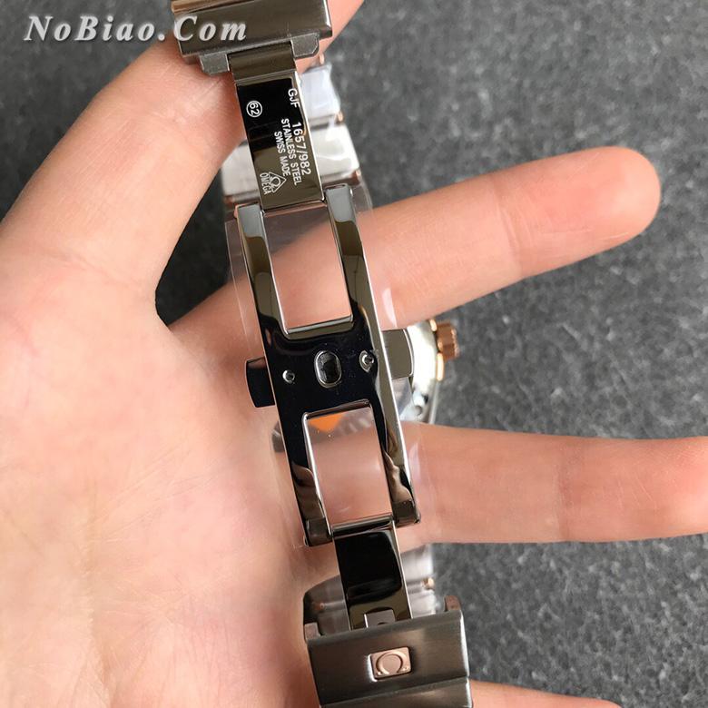 VS厂最强欧米茄星座系列38毫米123.20.38.21.03.001蓝面玫金菱形纹盘男款复刻手表