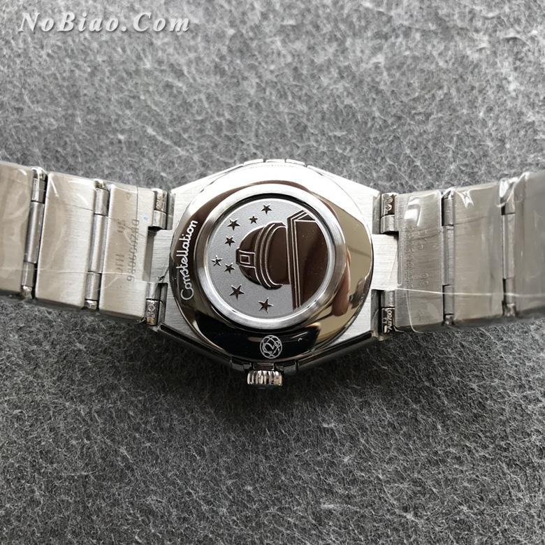 AF厂欧米茄星座28毫米女士石英复刻手表(七)