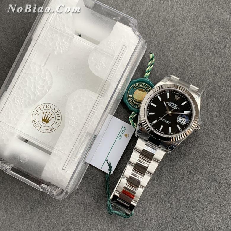 VS厂劳力士日志型黑面41毫米复刻手表