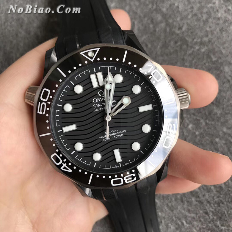 VS厂欧米茄新海马300米陶瓷壳复刻手表