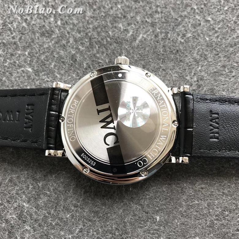 FK厂万国柏涛菲诺系列蓝面金丁瑞士eta2892机芯版复刻手表