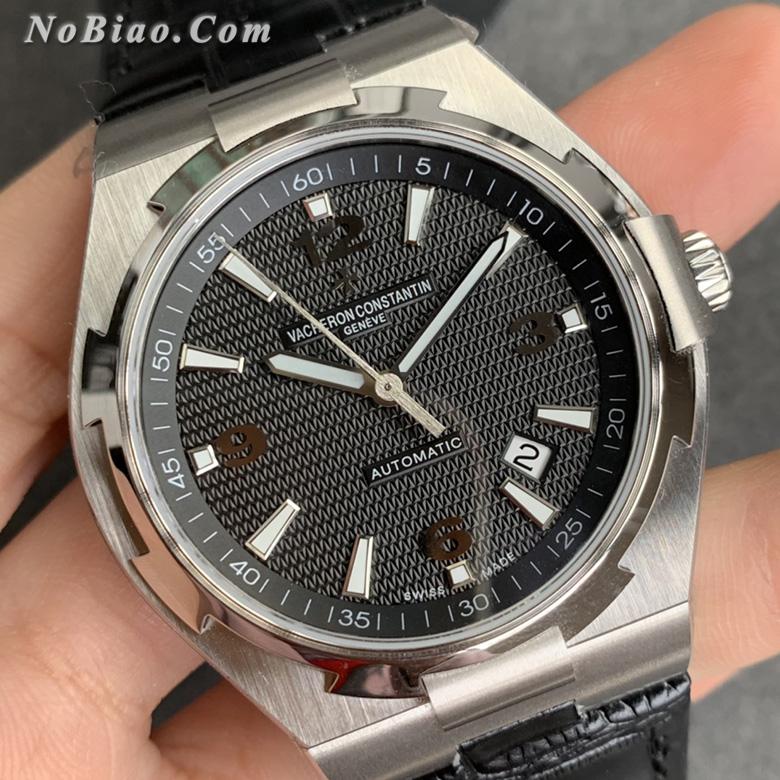 MKS厂江诗丹顿纵横四海系列47040/000W-9500黑面皮带复刻手表