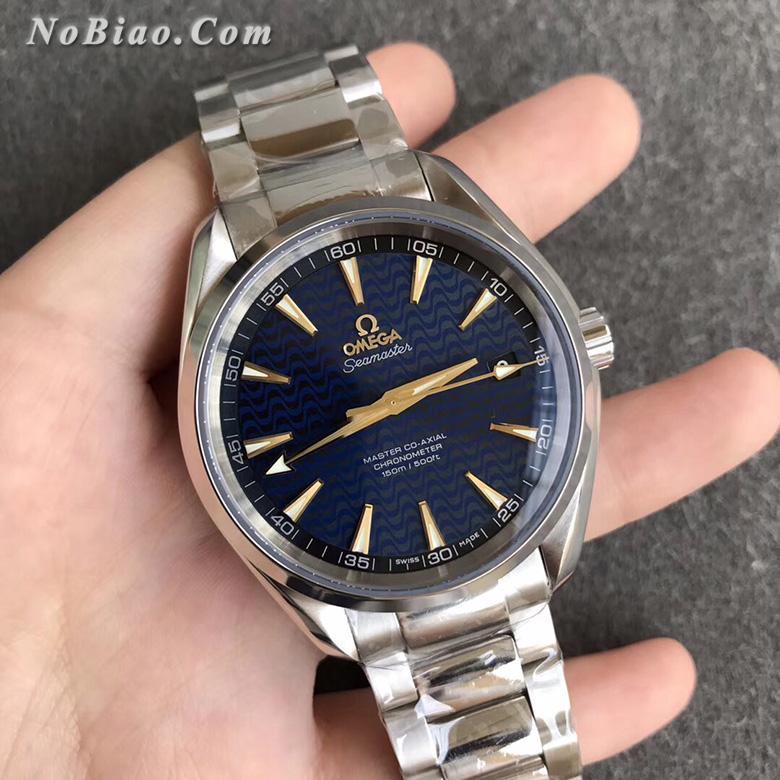 VS厂欧米茄海马150米里约奥运会纪念款蓝面复刻手表