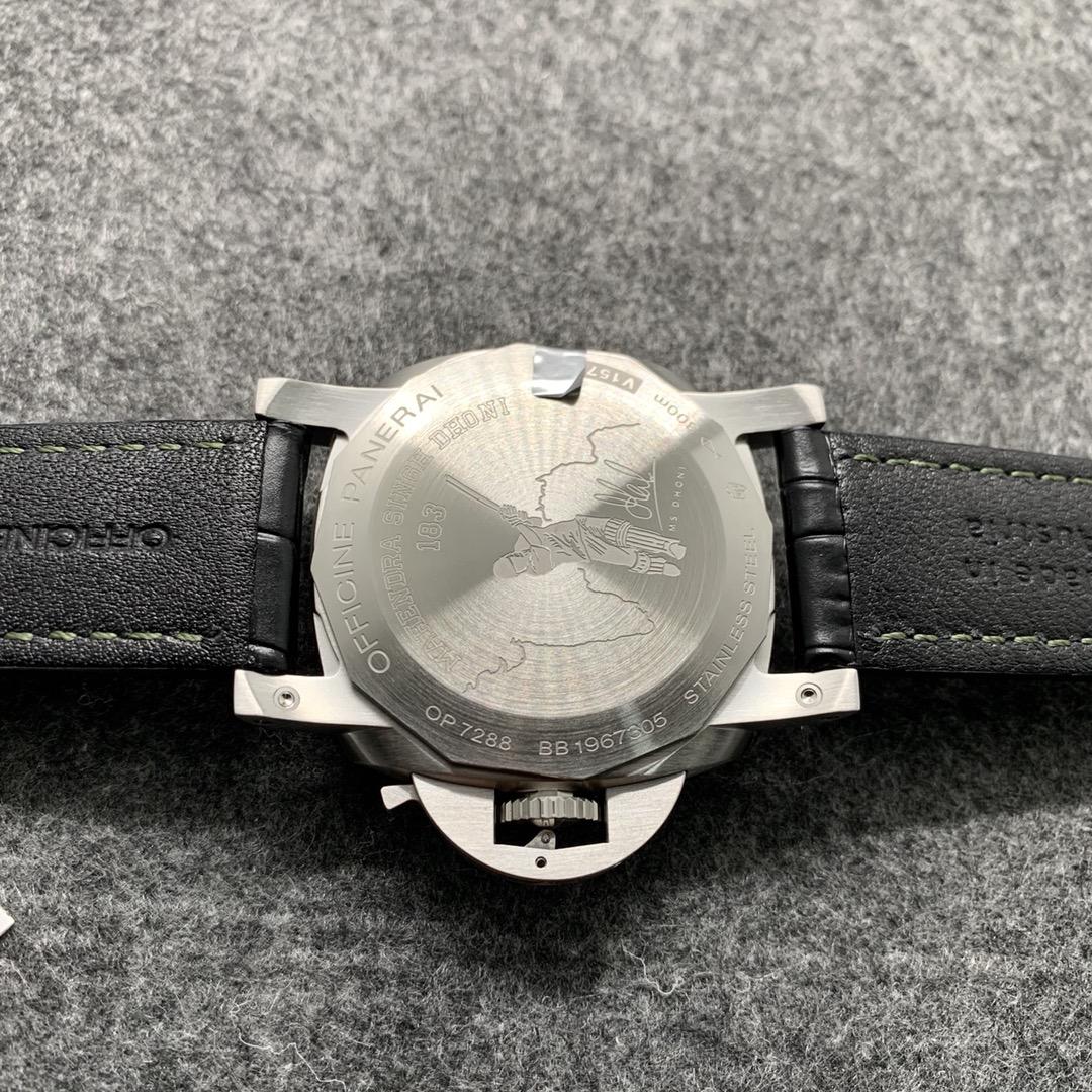 VS厂沛纳海PAM01056军绿面限量款复刻手表