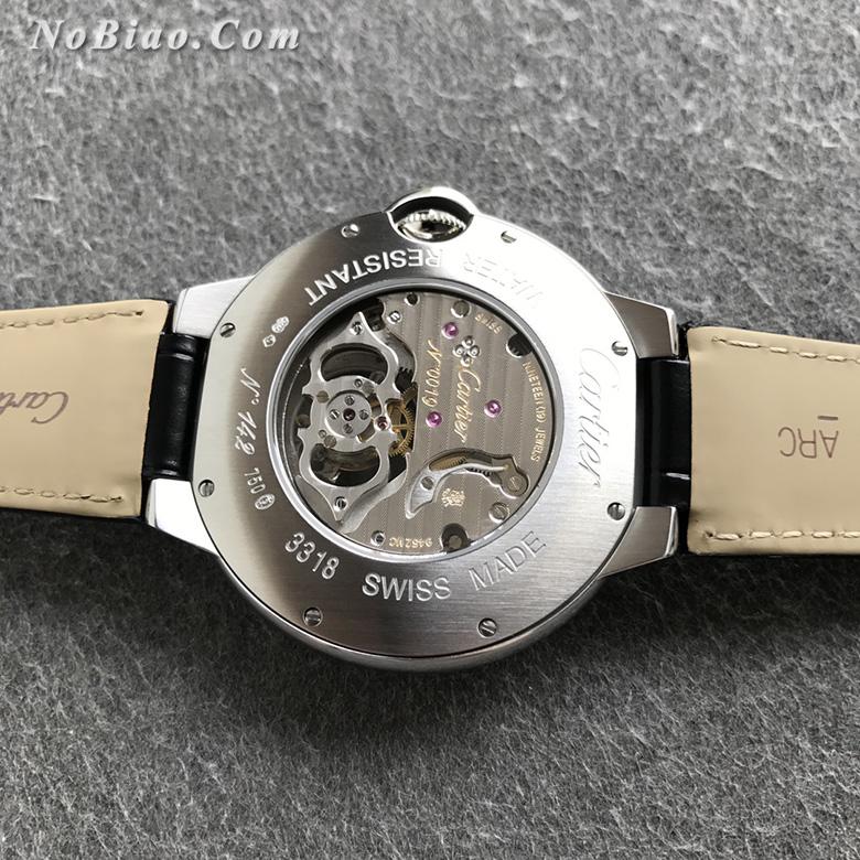 BBR厂卡地亚蓝气球W6920021男款陀飞轮复刻手表