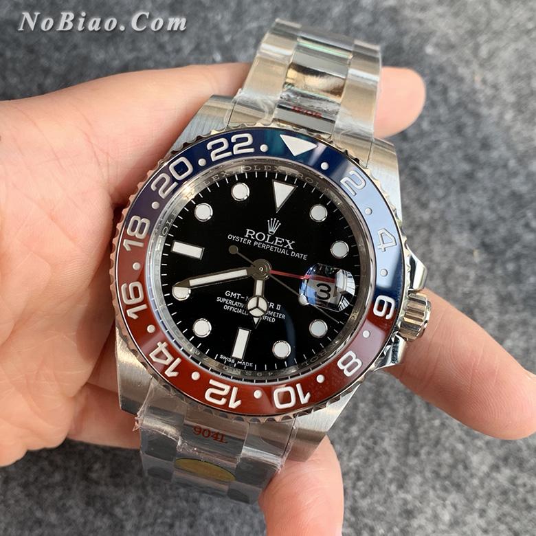 N厂劳力士GMT格林尼治型116719-BLRO可乐圈复刻手表