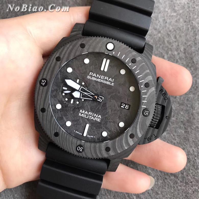 VS厂沛纳海PAM979碳纤维壳复刻手表