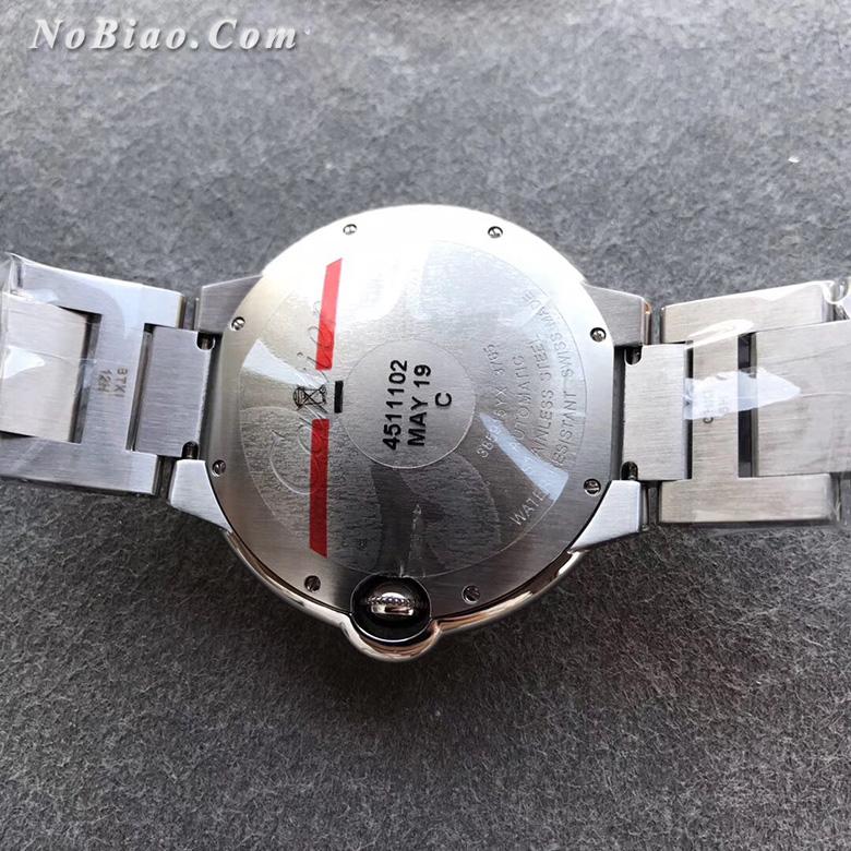 AF厂卡地亚大号蓝气球42毫米蓝面钢带版复刻手表