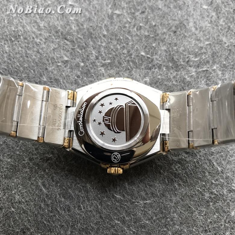 AF厂欧米茄星座28毫米女士石英复刻手表(十五)
