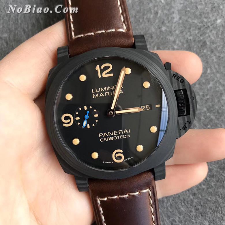 VS厂沛纳海PAM661碳纤维壳一比一复刻手表