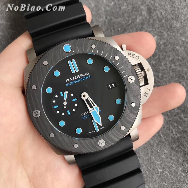 VS厂沛纳海PAM799钛壳碳纤维表圈一比一复刻手表
