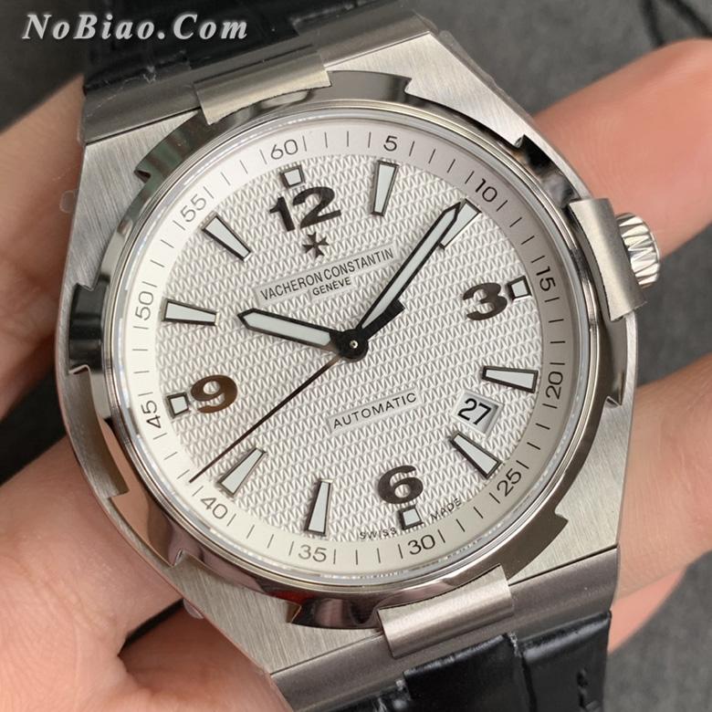 MKS厂江诗丹顿纵横四海系列47040白面皮带复刻手表