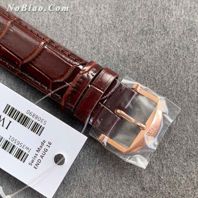 FK厂万国柏涛菲诺系列白面玫金壳瑞士eta2892机芯版复刻手表