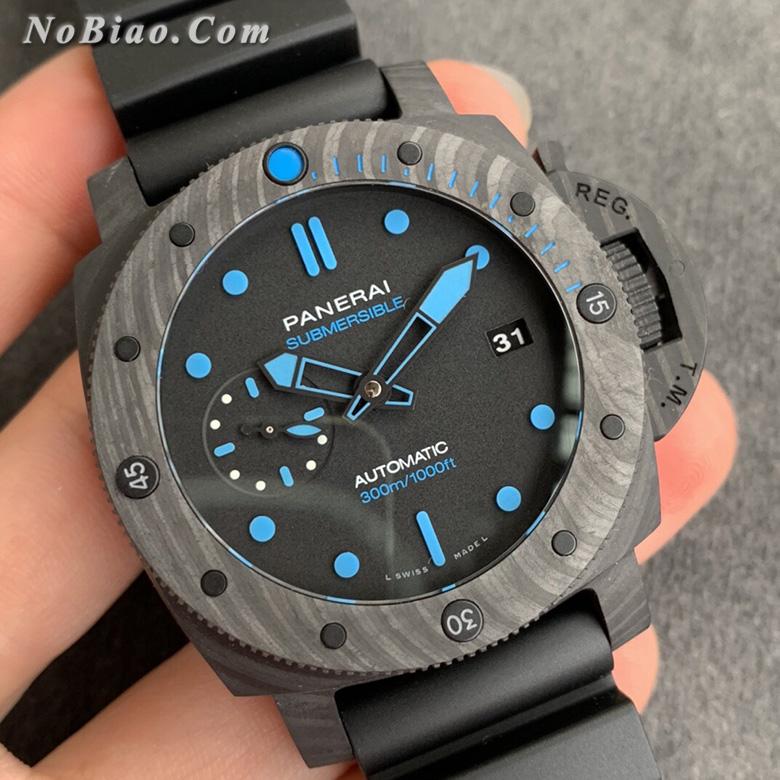 VS厂沛纳海PAM960小直径碳纤维款复刻手表