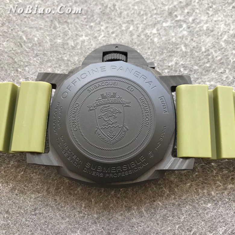VS厂沛纳海潜行系列PAM961碳纤维壳一比一复刻手表