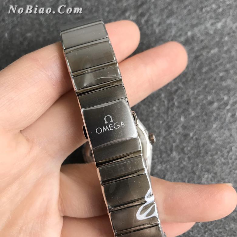 AF厂欧米茄星座28毫米女士石英复刻手表(四)