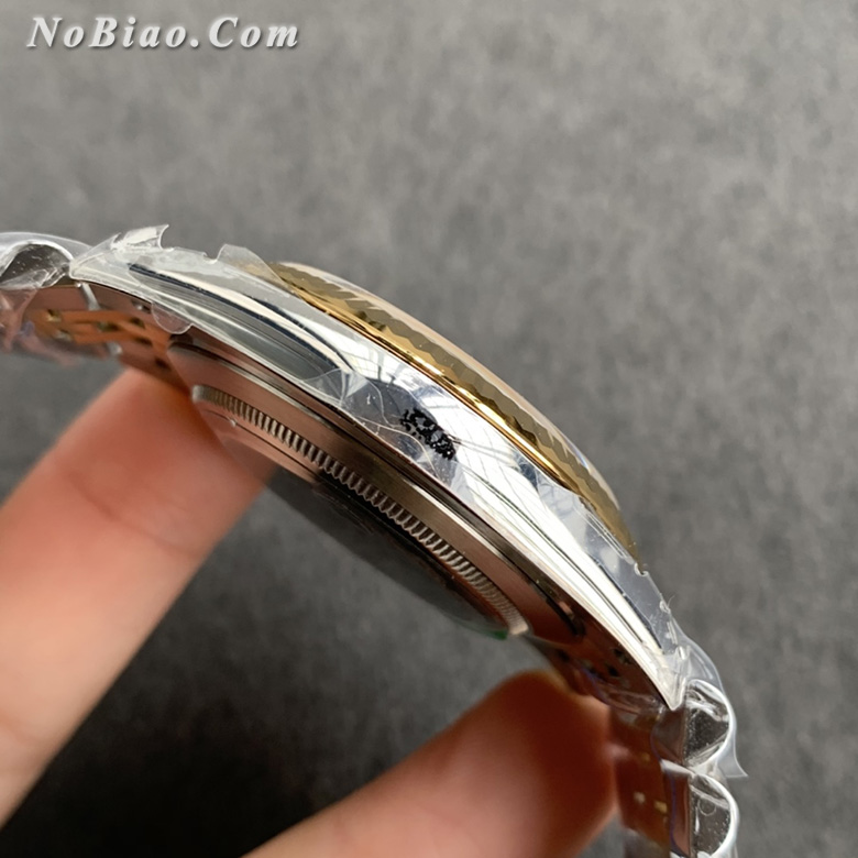 VS厂劳力士日志型黑面间金41毫米复刻手表