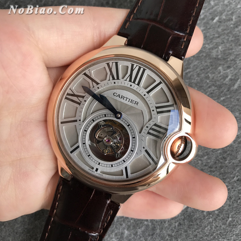 BBR厂卡地亚蓝气球W6920001男款陀飞轮复刻手表
