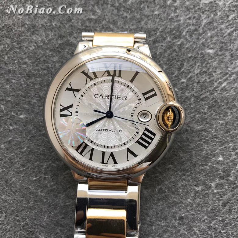 AF厂卡地亚大号蓝气球W69009Z3间金钢带版复刻手表