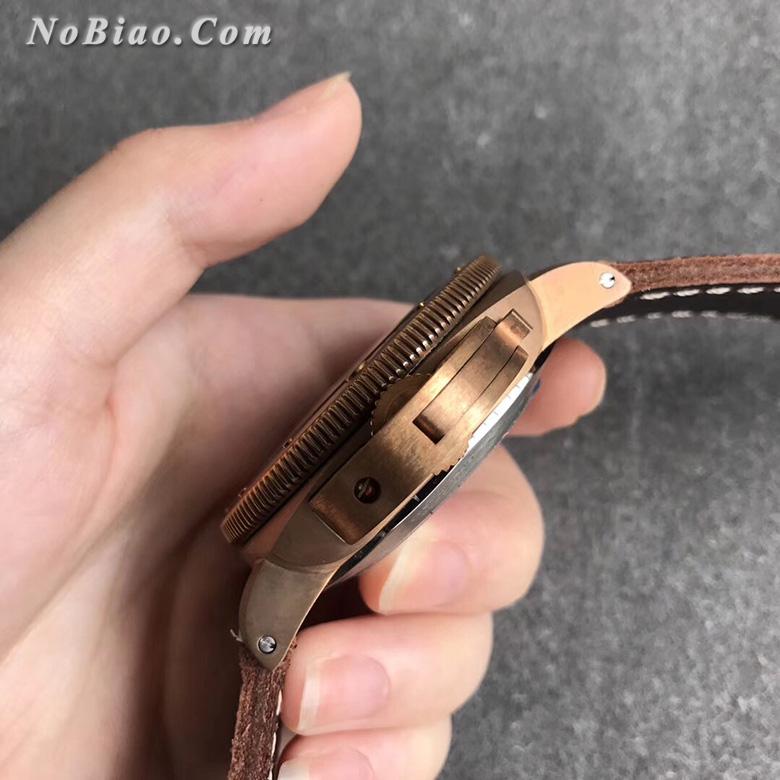VS厂沛纳海PAM382青铜限量款复刻手表