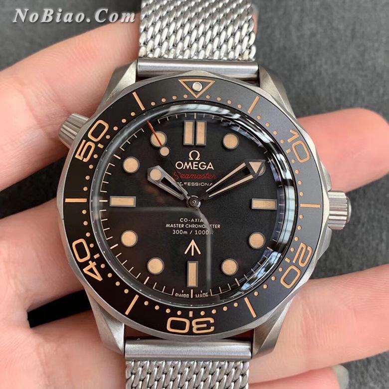 VS厂欧米茄海马300M詹姆斯邦德电影007限量款米兰钢带版复刻手表