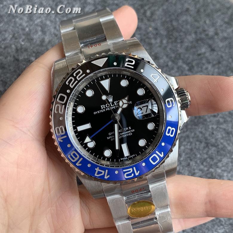 N厂V11版劳力士GMT格林尼治型116710BLNR-78200可乐圈复刻手表