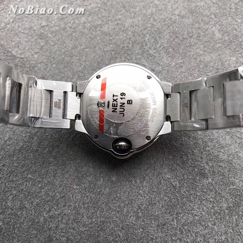 AF厂卡地亚蓝气球28毫米小号粉面女款复刻手表