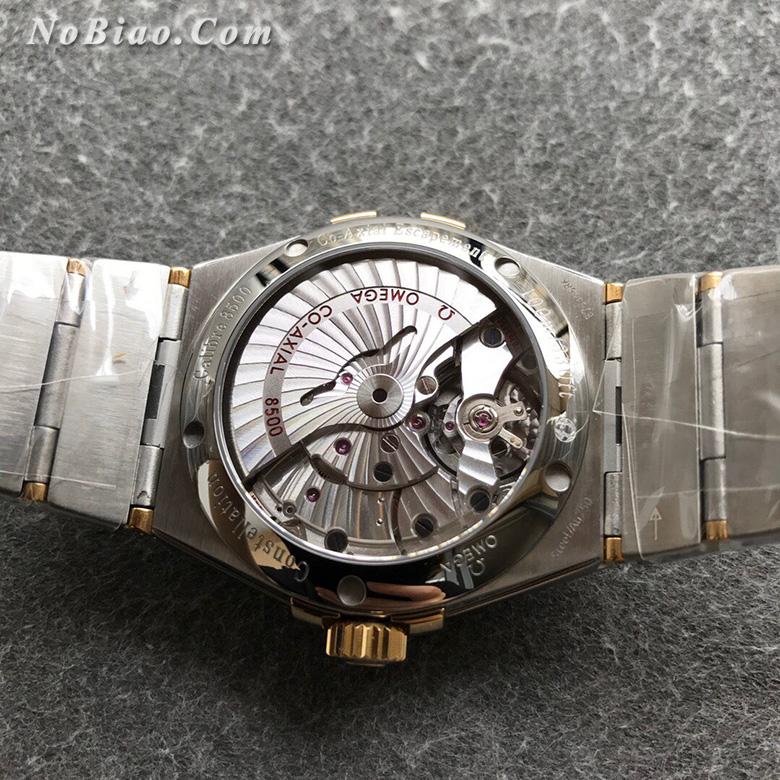 VS厂最强欧米茄星座系列38毫米123.20.38.21.02.009白面金壳菱形纹盘复刻手表