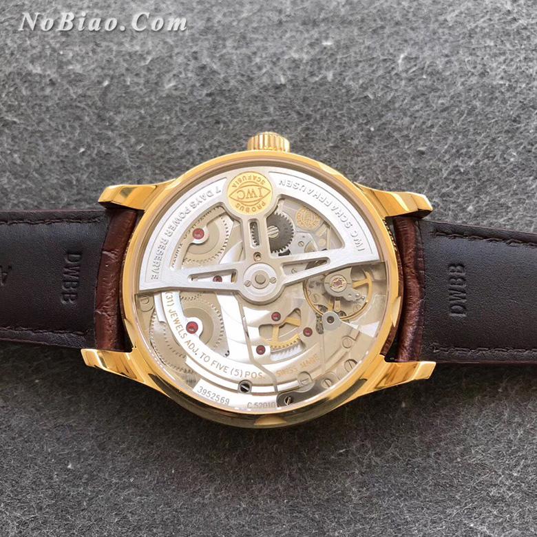 ZF厂万国葡七白面金壳复刻手表