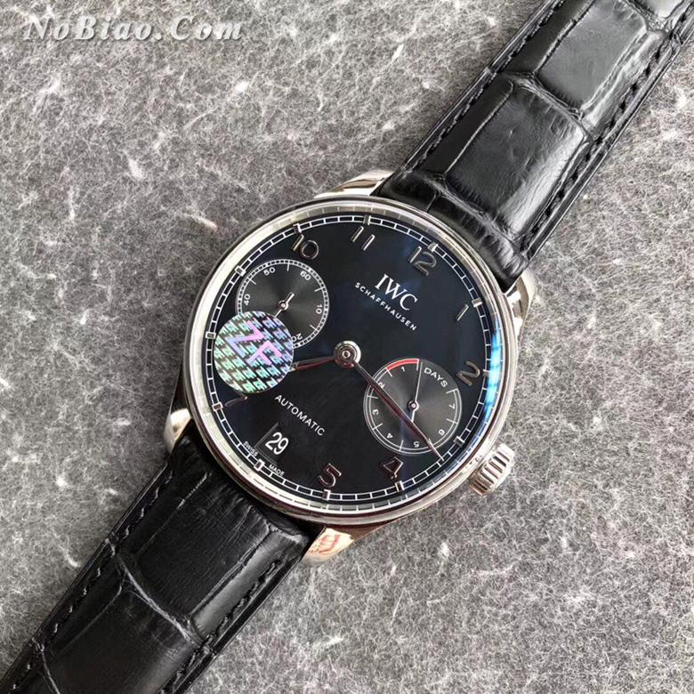 ZF厂万国葡七黑面复刻手表
