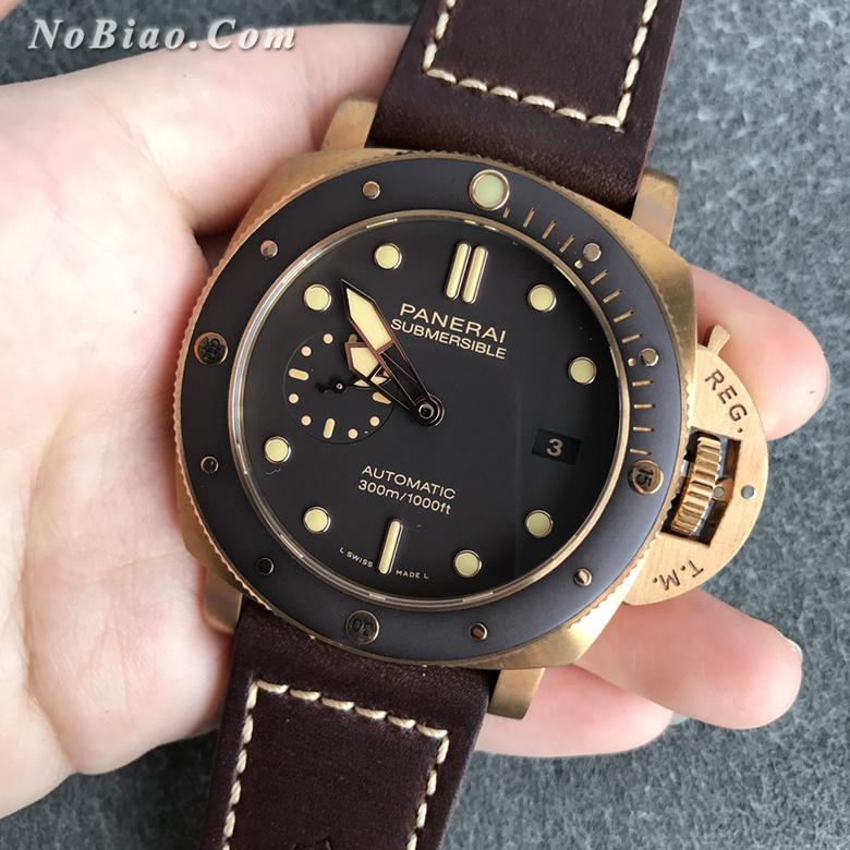 VS厂沛纳海PAM00968青铜壳复刻手表