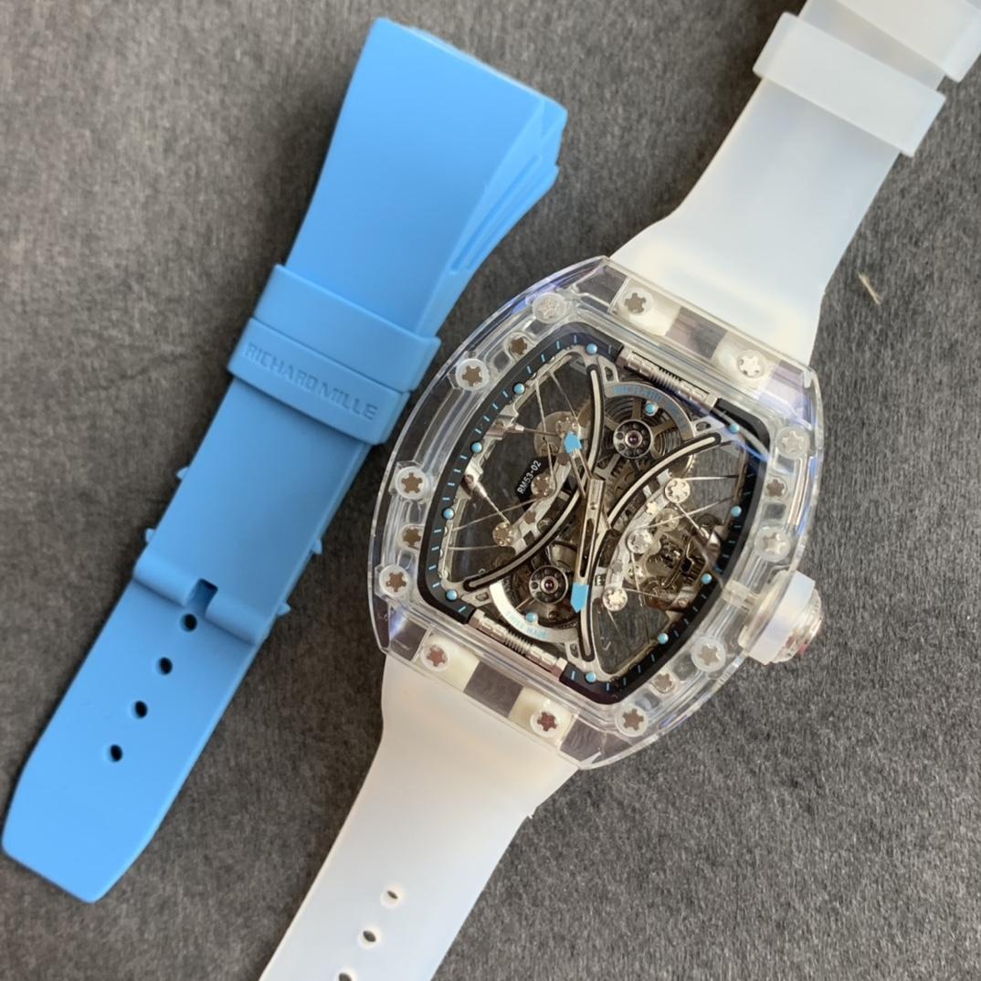 RM厂理查德米勒RM 053-02水晶马球陀飞轮复刻手表