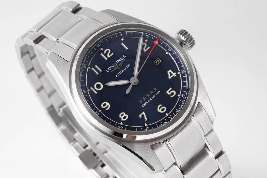 ZF厂浪琴先行者系列蓝面钢带款复刻手表