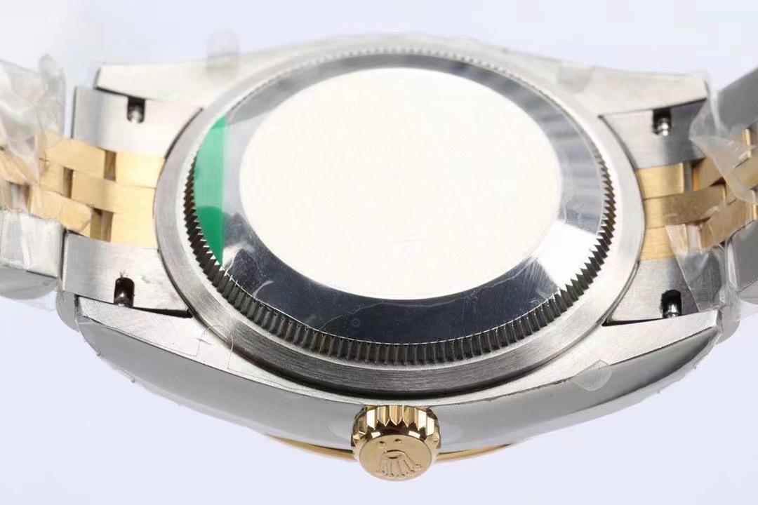 EW厂劳力士日志系列36毫米棕榈叶面复刻手表