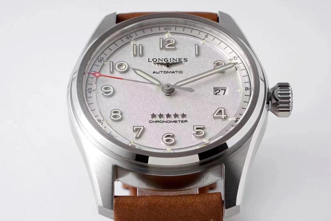 ZF厂浪琴先行者系列白面皮带款复刻手表