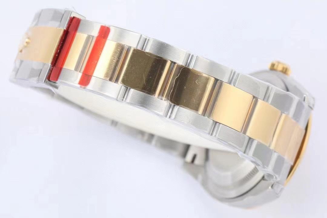 EW厂劳力士日志系列36毫米M126233-0038新款棕榈叶面复刻手表