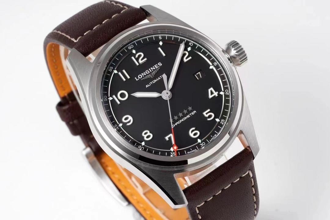 ZF厂浪琴先行者系列黑面皮带款复刻手表