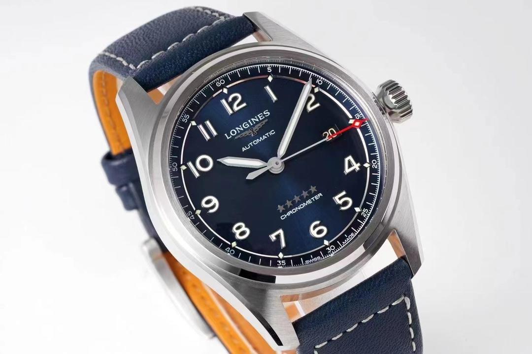 ZF厂浪琴先行者系列蓝面皮带款复刻手表